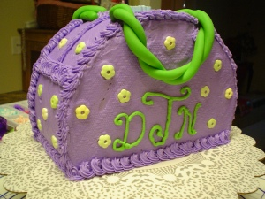 Purse Cake for Tween