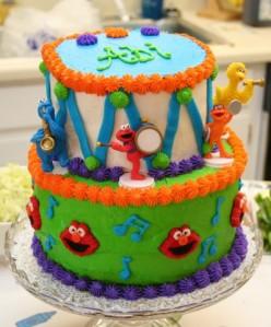 Abi's 2nd Birthday- Sesame Street