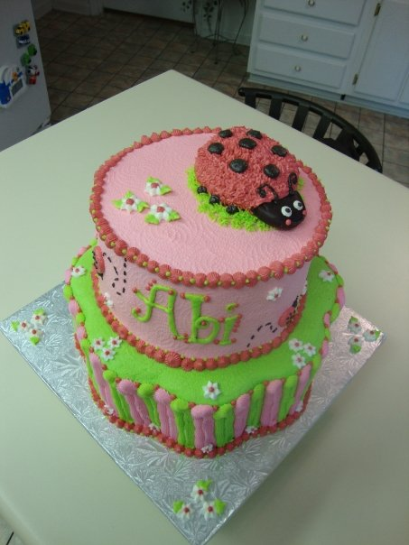 Abi Ladybug Cake